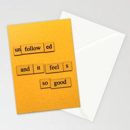 Unfollowed Stationery Cards