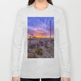 West Lomond Sunset Sky Long Sleeve T-shirt