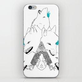 Tsarevna of the forest iPhone Skin
