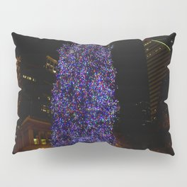 The Tree and the Tower (Chicago Christmas/Holiday Collection) Pillow Sham