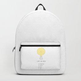 I got an idea! Backpack