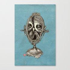 Owl Mirror Canvas Print