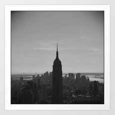 'Empire State Building' Art Print
