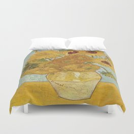 Vincent van Gogh's Sunflowers Duvet Cover