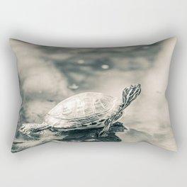 Turtle Sage Rectangular Pillow