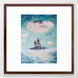 Magical Mint Island  Framed Art Print