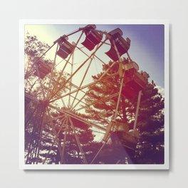 Ferris Wheeling  Metal Print