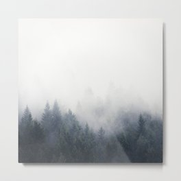 I Don't Give A Fog Metal Print