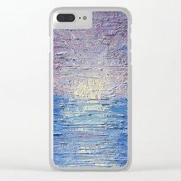 A Broken Ocean Clear iPhone Case
