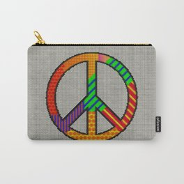 Peace – Knitting Style Carry-All Pouch
