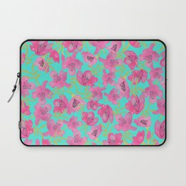 Pink Floral seamless Pattern Laptop Sleeve