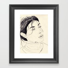 Keep On Searching For An Answer   (, 'Cause I)   Framed Art Print