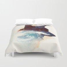 Night swim Duvet Cover