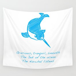 Narwhal Wall Tapestry