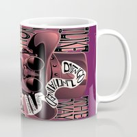 django Mugs featuring Django Poster by eos vector