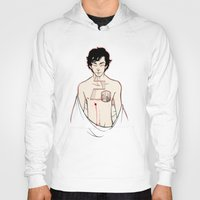 sherlock holmes Hoodies featuring [ Sherlock ] Sherlock Holmes Benedict Cumberbatch  by Vyles