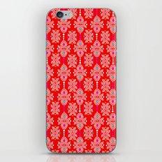 Stella in Red Pattern iPhone & iPod Skin
