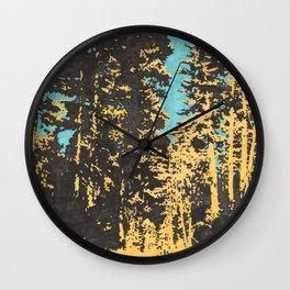 Field Recording of Cicadas Wall Clock