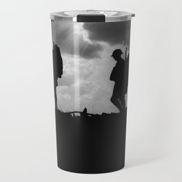 Soldier Silhouettes - Battle of Broodseinde Travel Mug