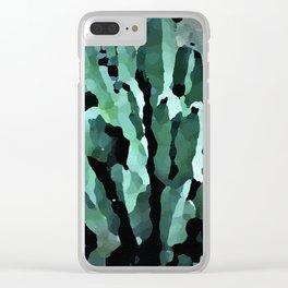 desert anenome Clear iPhone Case
