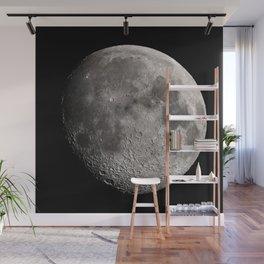 The Moon - Waxing Gibbous Wall Mural