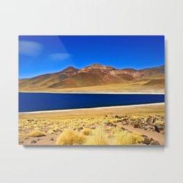 San Pedro de Atacama, Chile Metal Print