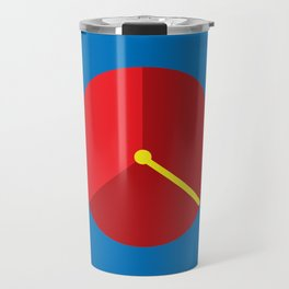Clock lost Travel Mug