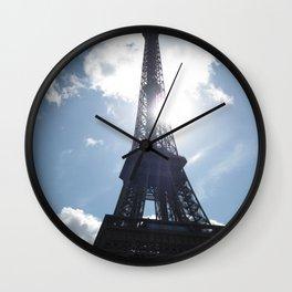Eiffel Alight Wall Clock