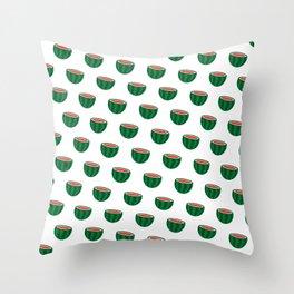 Use Your Melon Throw Pillow