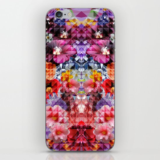 Crystal Floral iPhone & iPod Skin