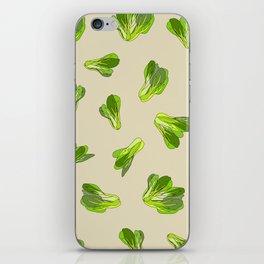 Bok Choy Vegetable iPhone Skin