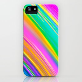 mint saturn iPhone Case