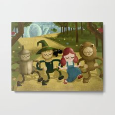Wizard of Oz fan art Metal Print