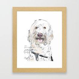 OPD Mr Livingston Framed Art Print