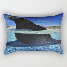 warmth of the sun Rectangular Pillow