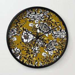 Khaki Garden Wall Clock