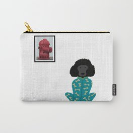 Poodle in a Onesie Carry-All Pouch