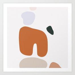 Shape Study #5 - Boulders Art Print