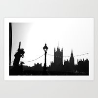 london city Art Print