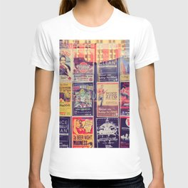 Concert posters T-shirt
