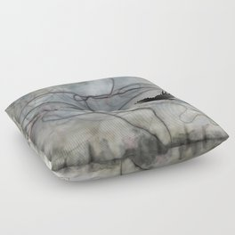 The Prison Rarely Has Bars Floor Pillow