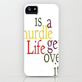 Hurdle 2 iPhone Case