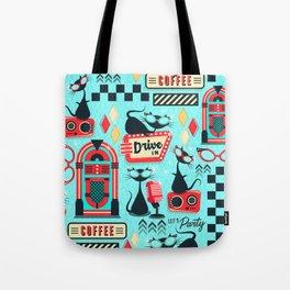 Retro Party Kitties V.02 Tote Bag