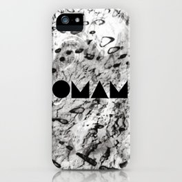 OMAM MARBLE iPhone Case