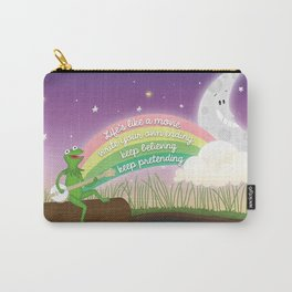 Keep Believing, Keep Pretending Carry-All Pouch