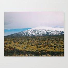 Snaefellsjoekull National Park Canvas Print