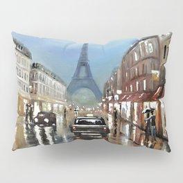 Rainy Paris Pillow Sham