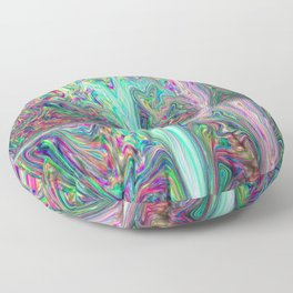 Melting Planet Floor Pillow