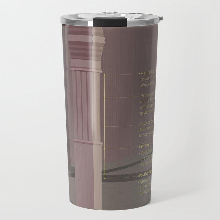 Letrastories - Bodoni Travel Mug