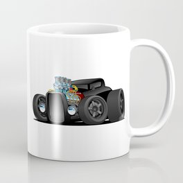 Hot Custom Black Street Rod Coupe Coffee Mug